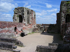 Stafford Castle interior